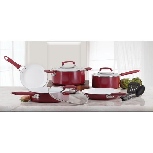 Pure Living 10 Piece Cookware Set