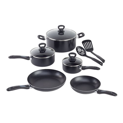 WearEver Comfort Grip 10-Piece Cookware Set & Reviews | Wayfair