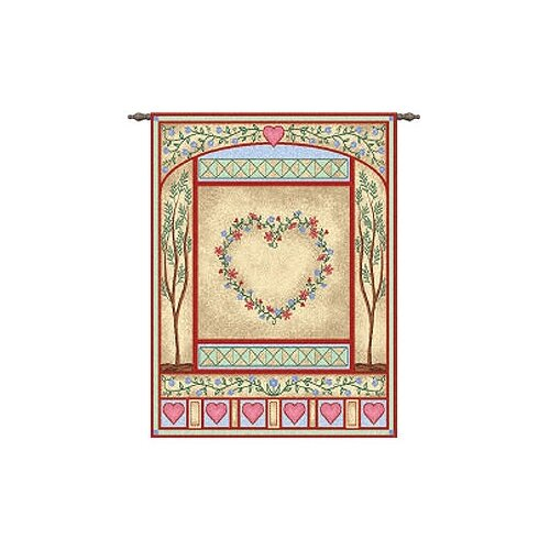 Pure Country Weavers Pastel Love Quilt Tapestry