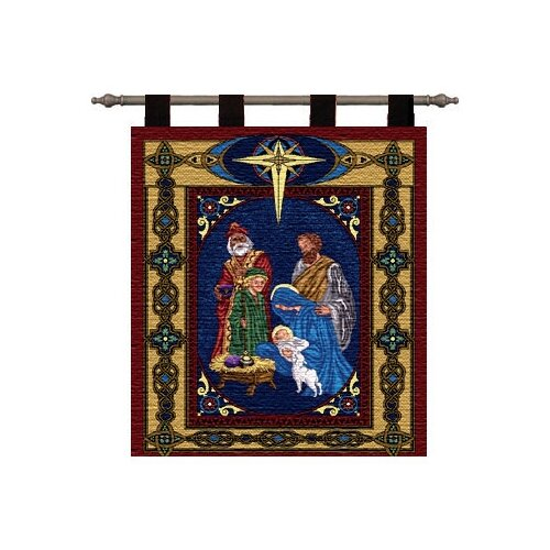 Pure Country Weavers Nativity Tapestry