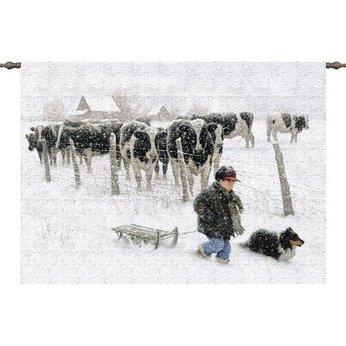Pure Country Weavers Curious Onlookers Tapestry