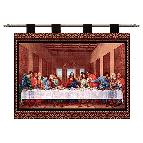 Pure Country Weavers The Last Supper II by Leonardo Da Vinci Tapestry