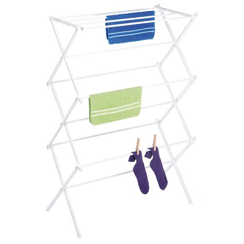 Whitmor, Inc Wire Folding Clothes Drying Rack
