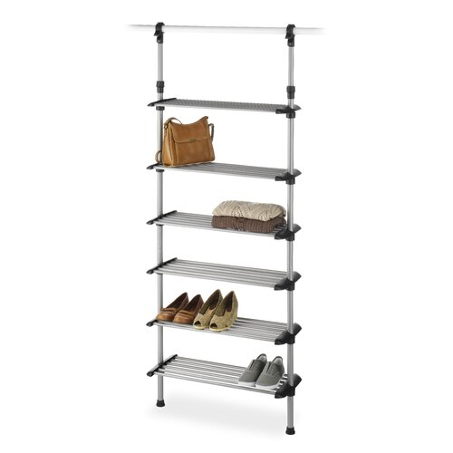 Closet 6 Shelf Shoe Rack System Wayfair