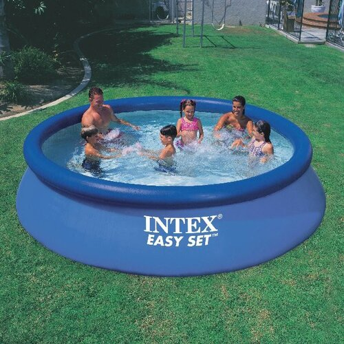 "Intex Round 30"" Deep Intex Easy Set Pool"