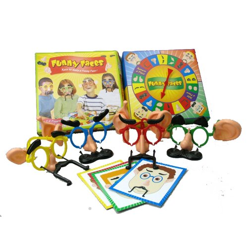 Intex Funny Faces Board Game