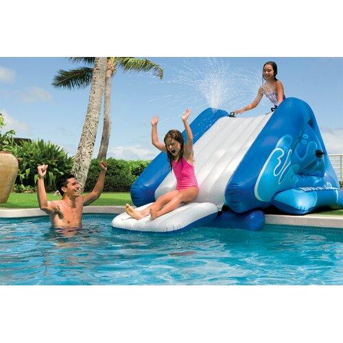Inflatable Slide Walmart: Intex Water Slide & Reviews