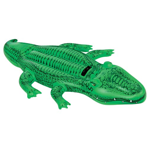 Intex Giant Gator Inflatable Ride On Water Toy