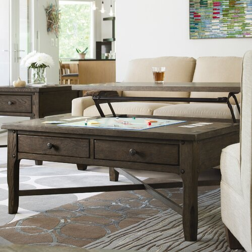 Universal Furniture Great Rooms Millhouse Coffee Table with Lift-Top