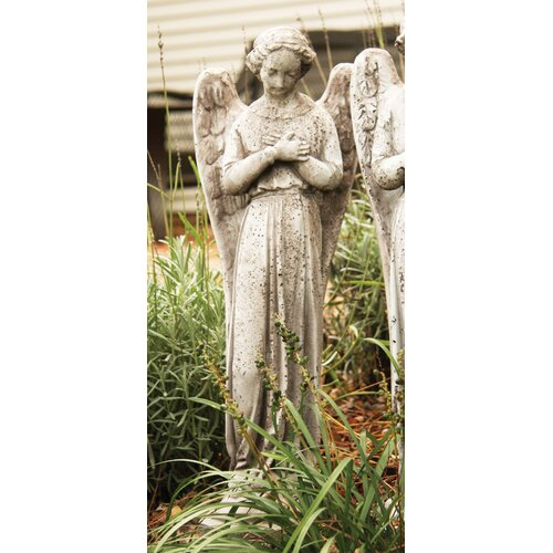 Angels Cari Cross Hands Statue