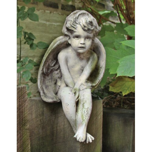 Angels Meditation Cherub Statue