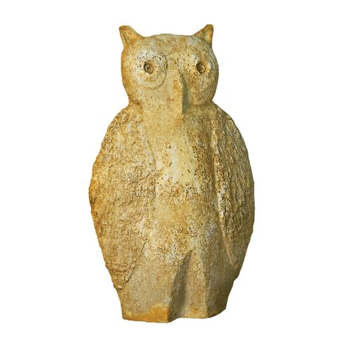 OrlandiStatuary Animals Owl Glutton Statue