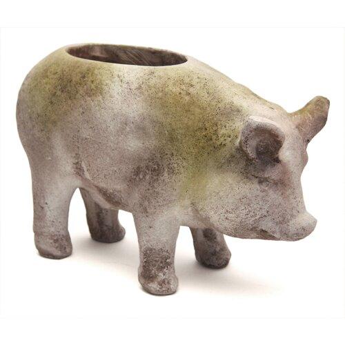 OrlandiStatuary Pig Pot Planter