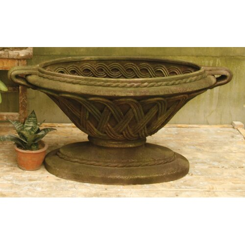 OrlandiStatuary Camillo Round Bowl Planter