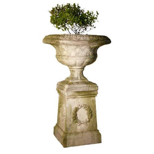 OrlandiStatuary Weaved Classical Urn Planter