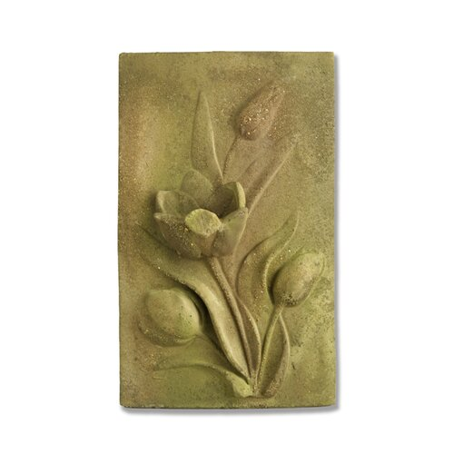 OrlandiStatuary Tulip Plaque Wall Decor