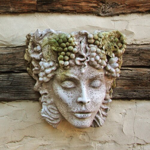 OrlandiStatuary Decor Woman Of Seasons Wall Planter