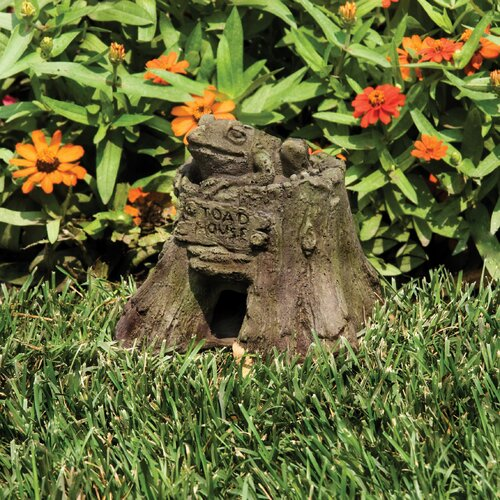 OrlandiStatuary Animals Toad House Statue