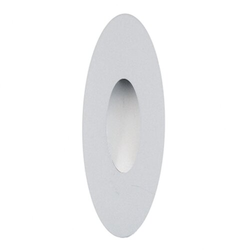 Scope One light Wall Recessed with Oval Faceplate