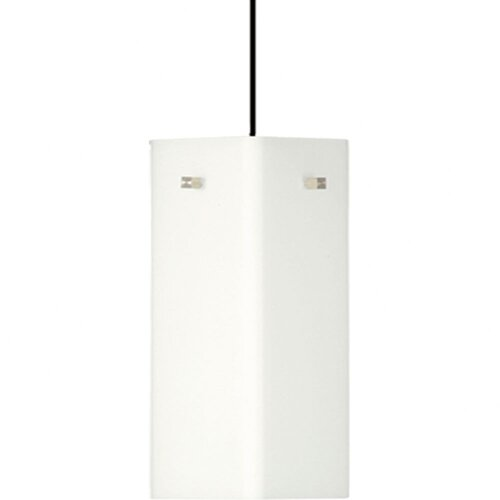 Alico Cube Pendant with Flat Canopy