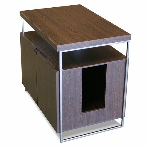 Modern Litter Box: Modern Cat Designs Large Litter Box Hider & Reviews