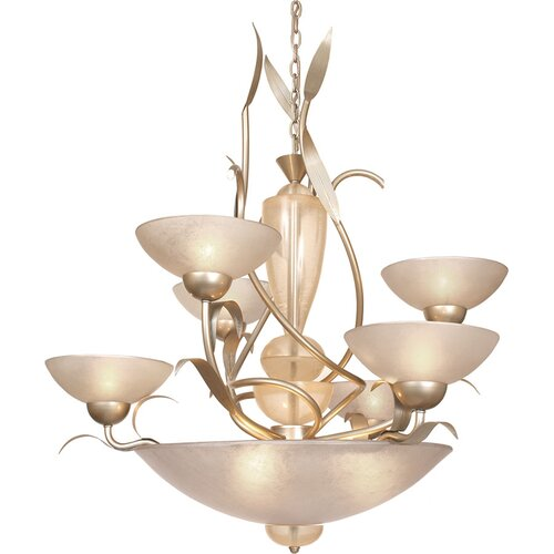 Van Teal Almost Autumn Dominant 6 Light Chandelier