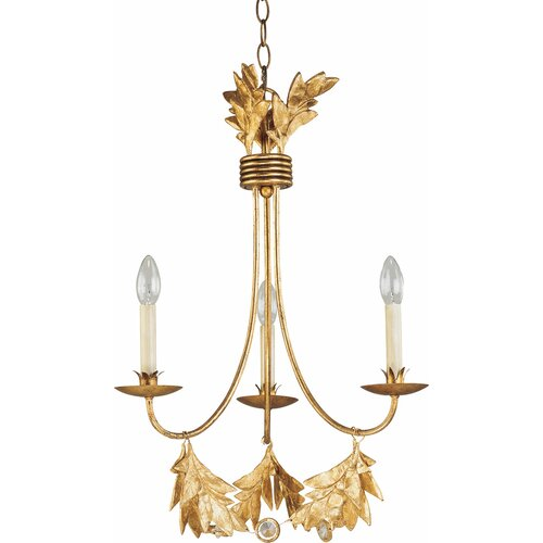 Sweet Olive 3 Light Chandelier