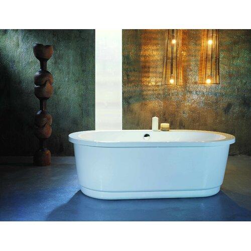 "Aquatica PureScape 65"" x 32"" Freestanding Acrylic Bathtub"
