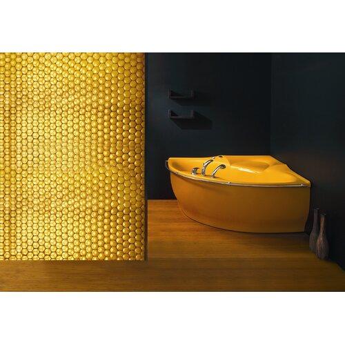 "Aquatica PureScape Arcrylic 81"" x 63"" Corner Bathtub"