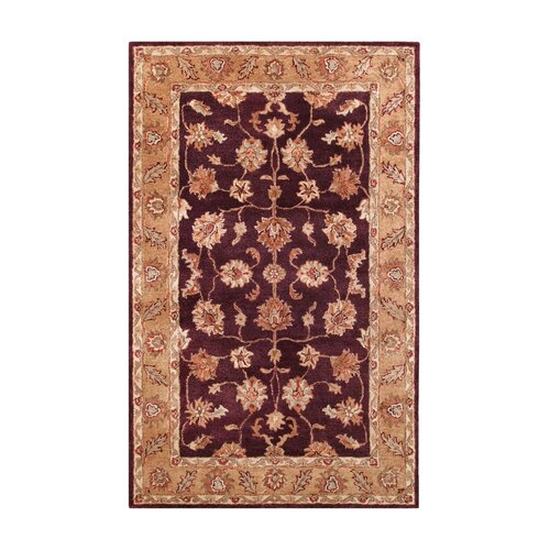 Noble House Golden Burgundy/Gold Rug