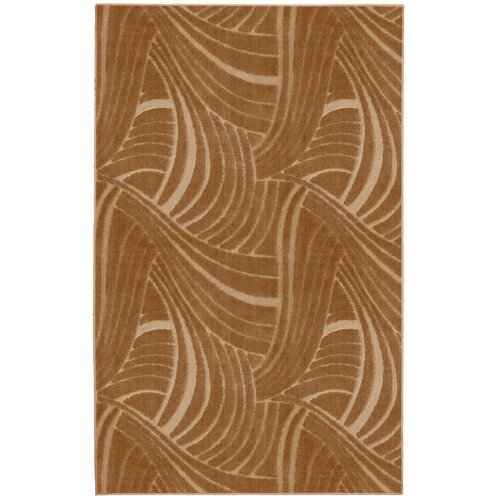 Mohawk Home Casual Concepts Brush Stroke Apple Butter Rug