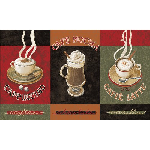 Mohawk Home New Wave 3 Piece Kitchen Caffe Latte Area Rug