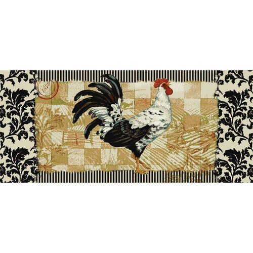 Mohawk Home New Wave Kitchen Bergerac Rooster Area Rug