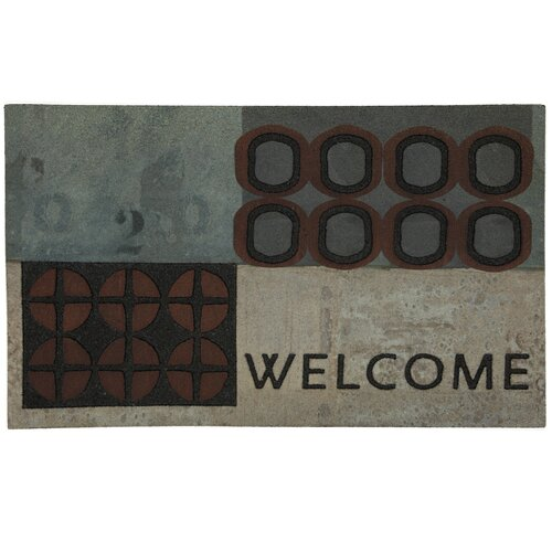 Mohawk Home Doorscapes Abstract Welcome Doormat