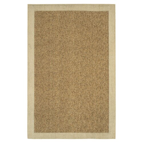Mohawk Home Raffia Biscuit/Gold Reed Area Rug