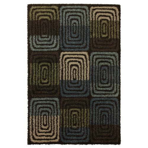 Mohawk Home Sinclair Multi Orbit Shag Rug
