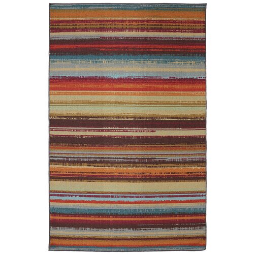 Mohawk Home Outdoor Patio Avenue Stripe Area Rug Amp Reviews