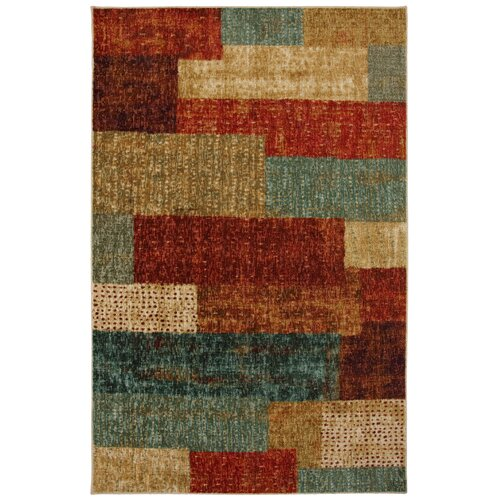 Mohawk Home New Wave Multi Urban Abstract Rug