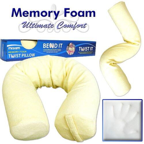 Remedy Memory Foam Customizable Twist Pillow