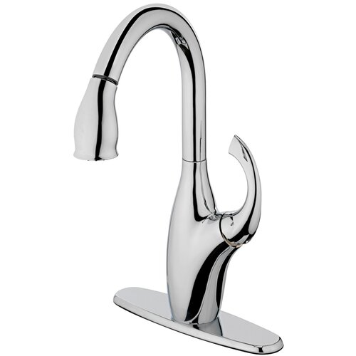 Aria One Handle Centerset Bar Kitchen Faucet