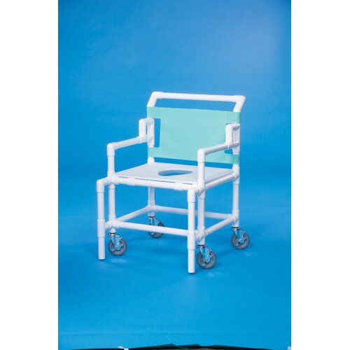 "Innovative Products Unlimited Bariatric Shower Chair with 24"" Between Arms"