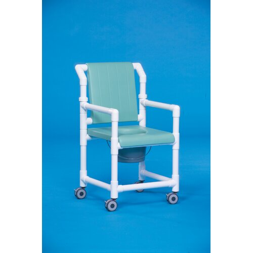Innovative Products Unlimited Deluxe Shower Commode with Soft Seat