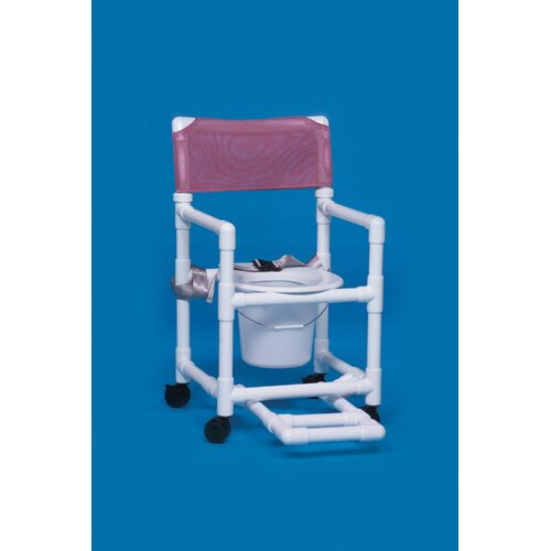 Innovative Products Unlimited Standard Line Commode with Footrest and Seat Belt