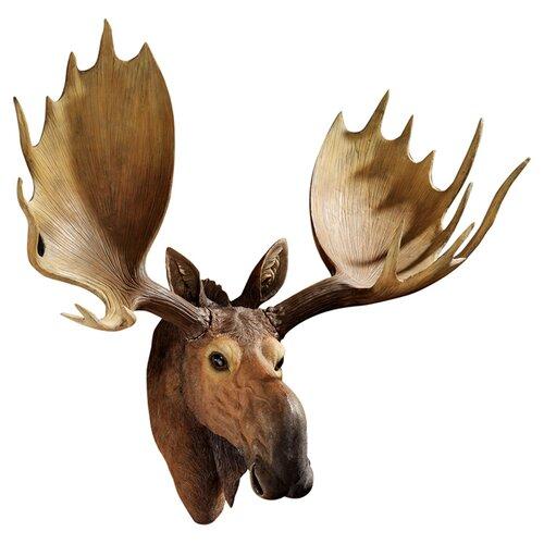 Design Toscano Alaskan Moose Trophy Wall Décor