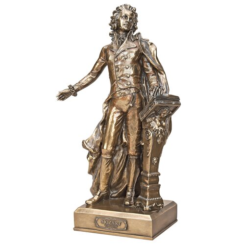 The Great Composers Mozart Statue