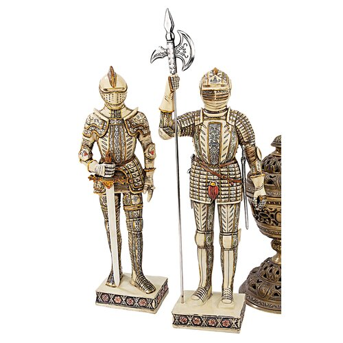 Design Toscano Knights of the Realm 2 Piece Statue Set