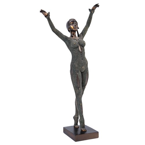 The Goddess Dourga 1925 Art Deco Sculpture
