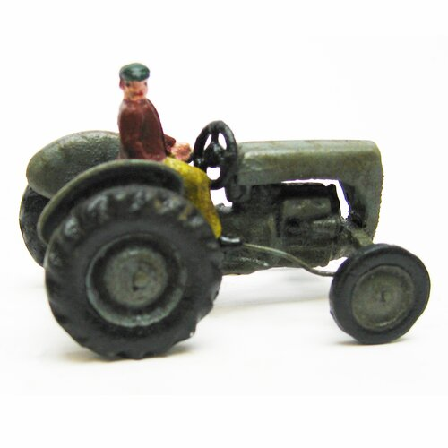 Earth Mover Replica Farm Toy Tractor Figurine