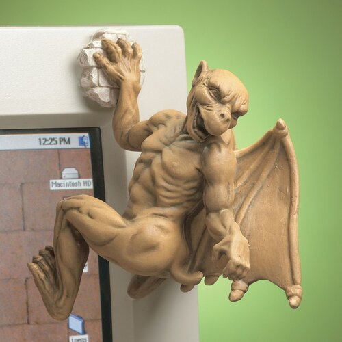 Gaston The Gargoyle Computer Climber Figurine