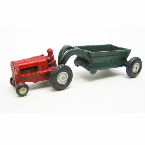 Gentleman Farmer Replica Farm Toy Tractor Figurine